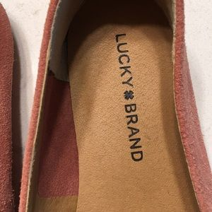 Lucky Brand suede loafers/flats